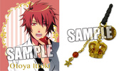 photo of Uta no Prince-sama Crown Earphone Jack: Otoya Ittoki Black Ver.