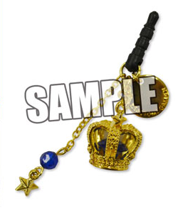 main photo of Uta no Prince-sama Crown Earphone Jack: Masato Hijirikawa Black Ver.