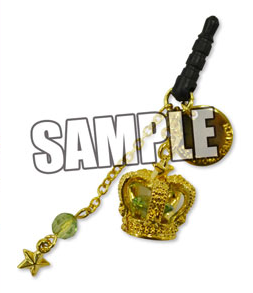 main photo of Uta no Prince-sama Crown Earphone Jack: Cecil Aijima Black Ver.