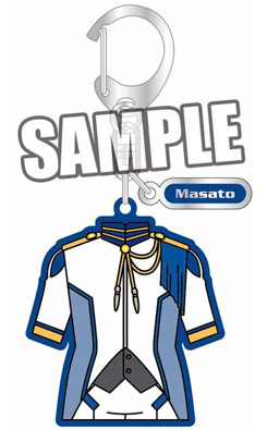 main photo of Uta no Prince-sama Maji LOVE 2000% Costume Style Keychain: Masato Hijirikawa