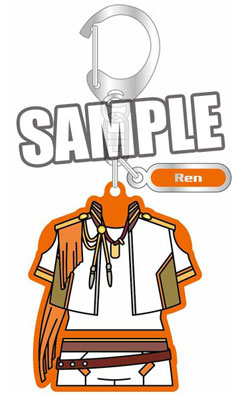 main photo of Uta no Prince-sama Maji LOVE 2000% Costume Style Keychain: Ren Jinguuji