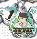 main photo of Haikyuu!! Metal Charm Collection: Tooru Oikawa