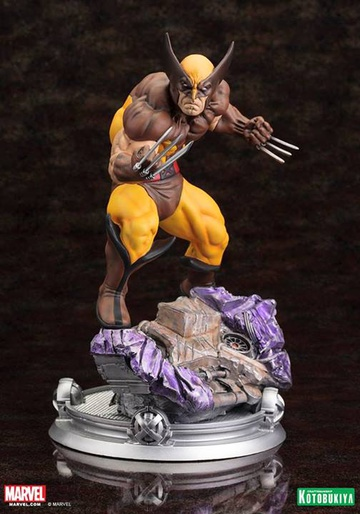 main photo of Fine Art Statue Wolverine Brown Outfit Ver.