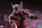 photo of Fine Art Statue Wolverine Brown Outfit Ver.