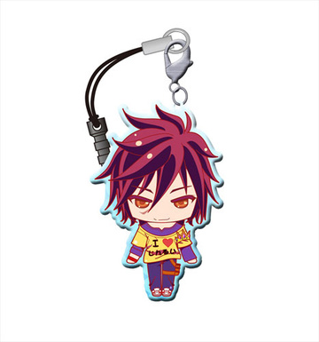 main photo of No Game No Life Trading Metal Charm Strap: Sora