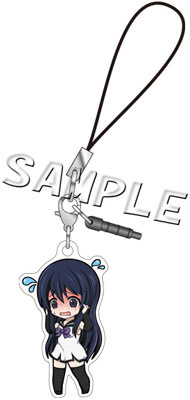 main photo of Gokukoku no Brynhildr Earphone Jack Accessory: Kuroha Neko