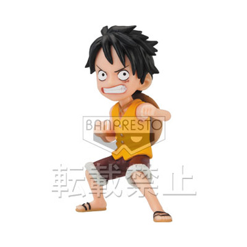 main photo of J Stars World Collectable Figure vol.3: Monkey D. Luffy
