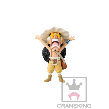 main photo of One Piece World Collectable Figure ~Iron Pirate!! Franky Shogun~: Usopp
