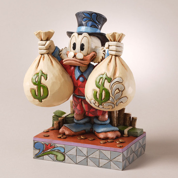 "main photo of Disney Traditions ~""A Wealth of Riches""~ Uncle Scrooge"