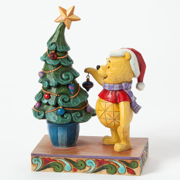 "main photo of Disney Traditions ~""Trim the Tree with Me""~ Winnie the Pooh decorating"