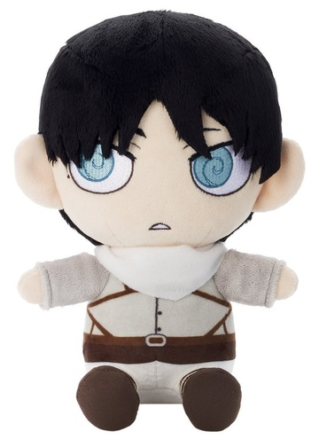 main photo of Attack on Titan Chimi Chara Plushie Cleaning Eren