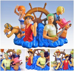 main photo of One Piece Bookends