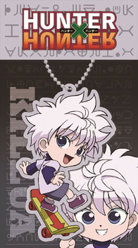 main photo of Hunter x Hunter Acrylic Keychain: Killua ver.2