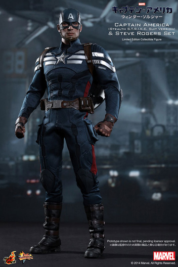 main photo of Movie Masterpiece Captain America The Winter Soldier Ver.