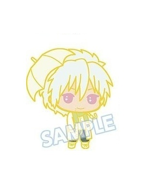 main photo of DRAMAtical Murder Capsule Rubber Mascot: Clear