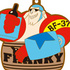 One Piece Rubber Strap Collection Barrel Colle vol.5 ~Taruiri no ichimi~: Franky