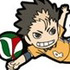 Haikyuu!! Rubber Strap Collection 2nd Set: Nishinoya Yuu