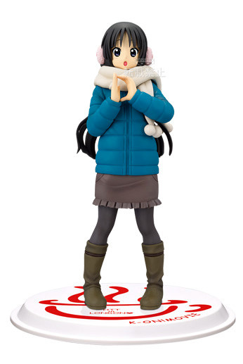 main photo of K-ON! Movie DXF Figure: Mio Akiyama ~D~ Ver.