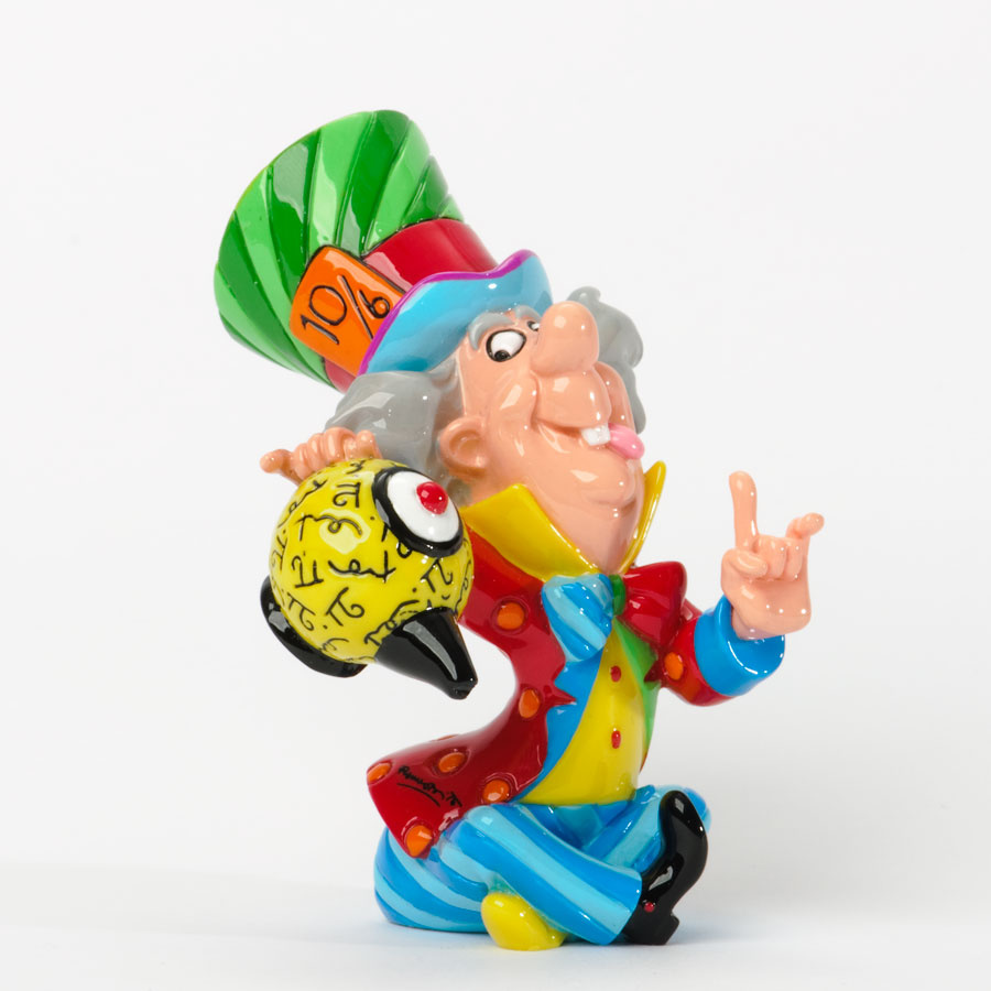 Alice In Wonderland Disney Characters: Disney By Britto Mad Hatter Mini Character