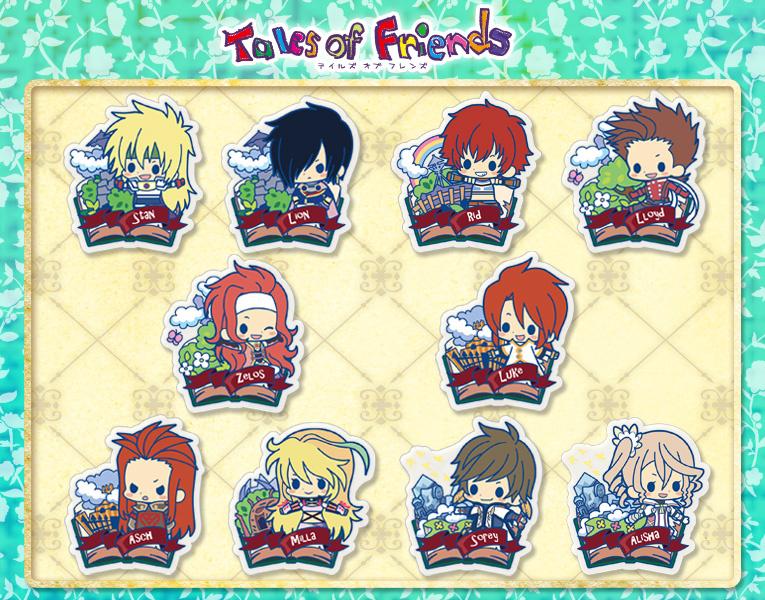 choisir le plus récent de gros meilleur endroit es series nino- Tales of Friends Clear Brooch Collection vol ...