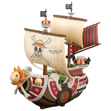 main photo of The Grandline Ships DXF Figure Vol.1 Thousand Sunny