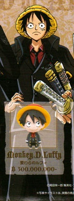 main photo of One Piece Chara Fortune Strong World Suit boy SET: Monkey D. Luffy