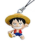 main photo of One Piece Netsuke 1 Gashapon: Monkey D. Luffy