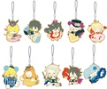 photo of Pandora Hearts Rubber Strap Collection: Gilbert Nightray