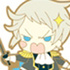 Pandora Hearts Rubber Strap Collection: Elliot Nightray