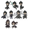 photo of Pic-Lil! Sword Art Online II Trading Rubber Strap Kirito Collection: Kirito GGO ver.1