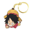 photo of One Piece Tsumamare Pinched Keychain: Monkey D. Luffy