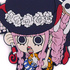 One Piece Tsumamare Pinched Keychain: Perona