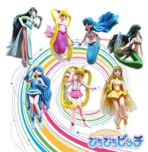 Mermaid Melody Pichi Pichi Pitch Figure Collection Nanami Luchia
