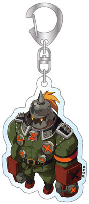 main photo of GUILTY GEAR Xrd-SIGN Deformed Acrylic Keychain: Potemkin