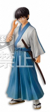 main photo of Gintama DXF Figure ~Oedo Bukan~ vol.1 Shimura Shinpachi
