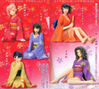 photo of Naruto Premium Heroines 2: Mitarashi Anko Orange Kimono Ver.