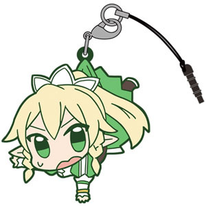 main photo of Sword Art Online II Tsumamare Pinched Keychain: Leafa ALO ver.2.0