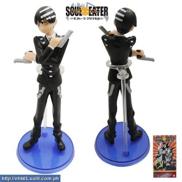 main photo of Soul Eater Figure Collection: Death The Kid