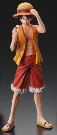 main photo of Super One Piece Styling Voyage to the New World: Monkey D. Luffy
