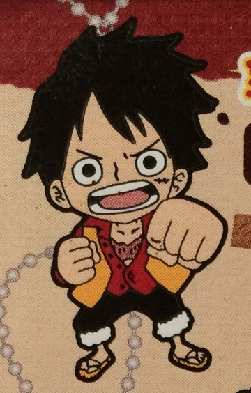main photo of One Piece Film Z Rubber Strap: Monkey D. Luffy