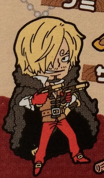 main photo of One Piece Film Z Rubber Strap: Sanji
