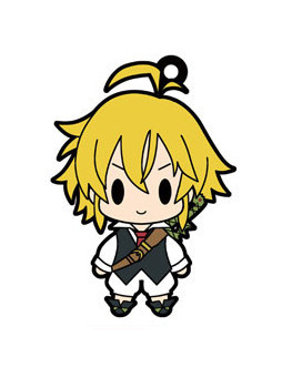 main photo of D4 The Seven Deadly Sins Rubber Strap Collection Vol.1: Meliodas