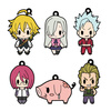 photo of D4 The Seven Deadly Sins Rubber Strap Collection Vol.1: Meliodas