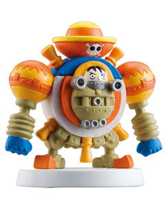 main photo of  One Piece Collection EX Go Go Chopperman: Giant Luffy Bomber