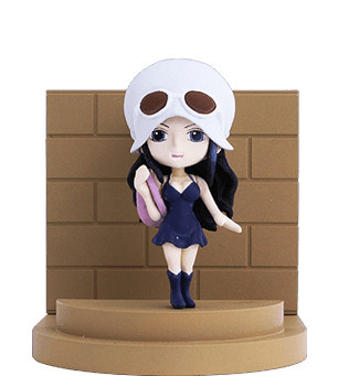 main photo of Family Mart One Piece Mobile Holder Dressrosa Ver.: Nico Robin