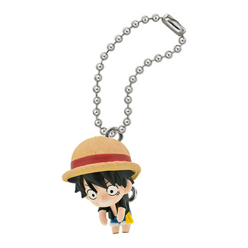 main photo of One Piece Pinched Mascot: Monkey D. Luffy Swing Ver.