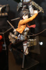 photo of Hdge technical statue No.5 Mikasa Ackerman Training Corps Ver.