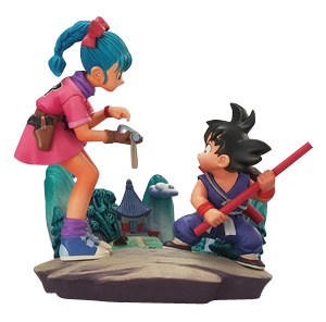main photo of Dragon Ball Capsule Neo Makafushigi Doragonbouru Soushuuhen: Bulma and Goku