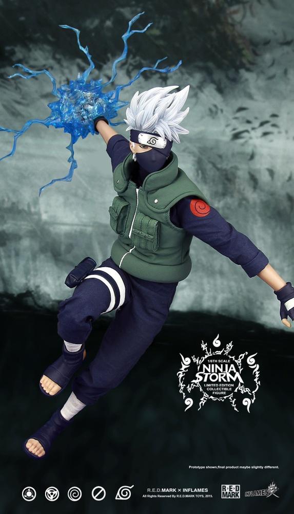 Naruto Anime Manga Rock Lee Action Figure Leaf Jonin Ninja PVC Collectible