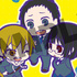 Toy'sworks Collection Niiten-gomu! Durarara!! x2: Masaomi & Mikado & Anri